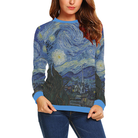 Starry Night Women's Sweatshirt