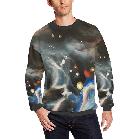 Galaxy Men's Sweatshirt