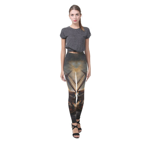 The Storm on the Lake of Galilee All-Over Leggings