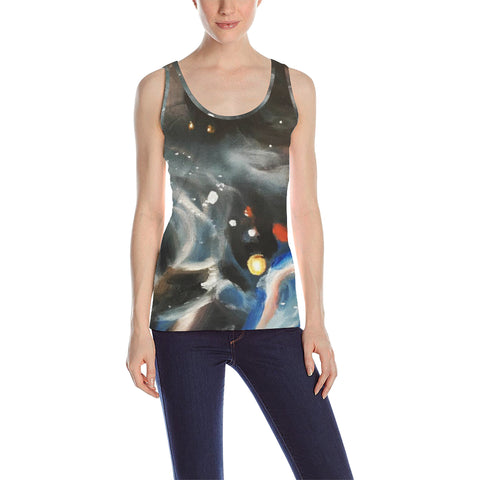 Galaxy Women's Tank Top