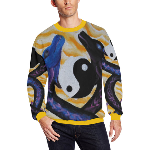 Dragons of Peace Men's Sweatshirt