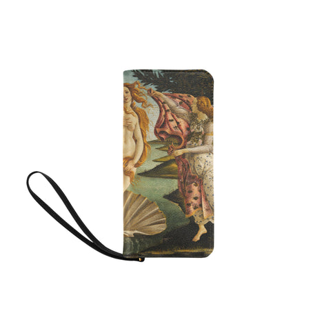 Women's Clutch Purse - The Birth of Venus - Sandro Botticelli