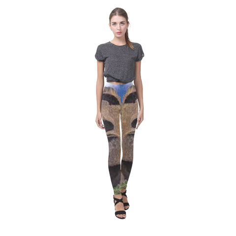 Easter Island Heads All-Over Leggings
