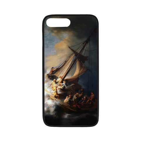 iPhone 7/7s Flexible Case - The Storm on the Lake of Galilee - Rembrandt Van Rijn