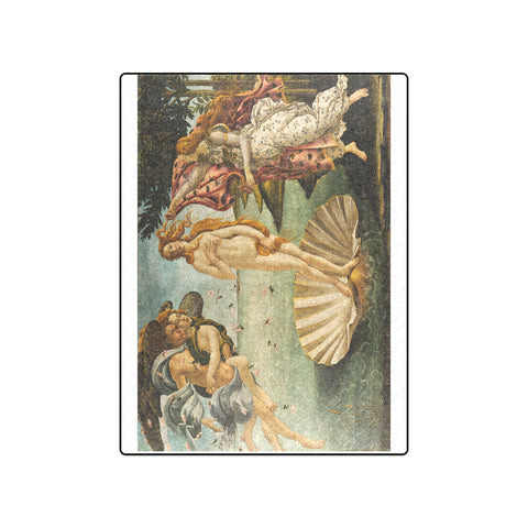 "50"" x 60"" Fleece Blanket - The Birth of Venus - Sandro Botticelli"