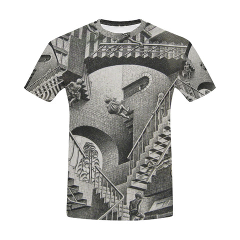 Relativity All Over Men's T-Shirt