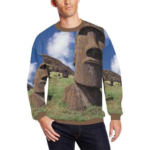 Easter Island Heads Men's Sweatshirt