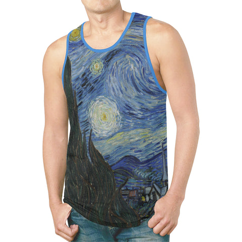 Starry Night Men's Tank Top