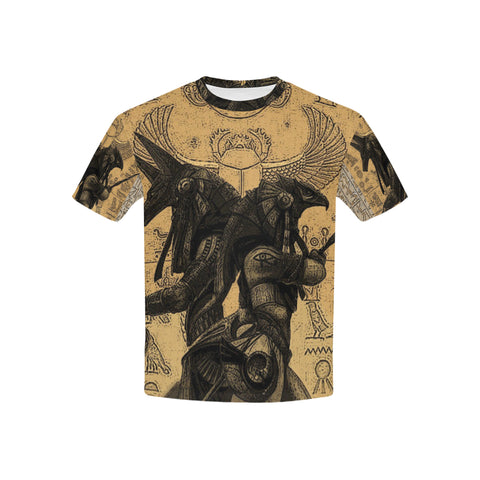 Anubis vs. Horus All Over Kid's T-Shirt