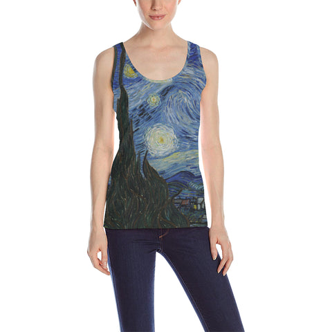 Starry Night Women's Tank Top
