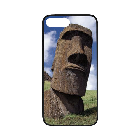 iPhone 7/7s Flexible Case - Easter Island Heads