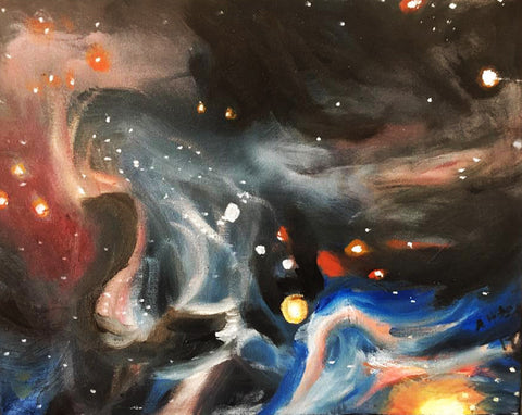 Galaxy ORIGINAL Oil Painting