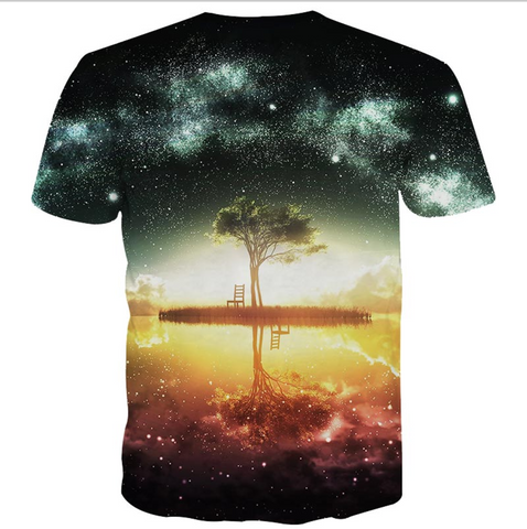 Nightfall Tree T-Shirt (unisex)