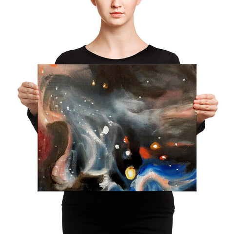 Custom Canvas Print - Galaxy by Adam Hite
