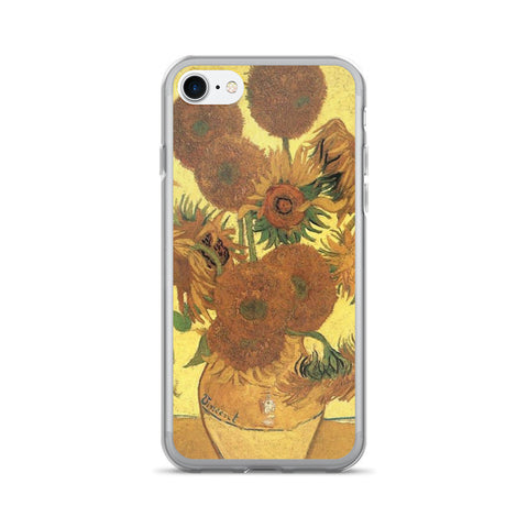iPhone 7/7s Flexible Case - Sunflowers - Vincent Van Gogh