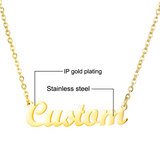 Personalized Name Necklace Classic