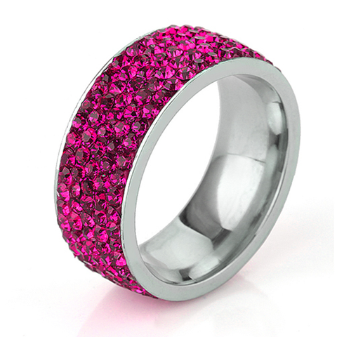 Pink Shimmer Ring