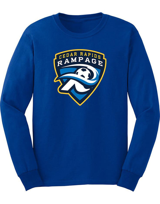Rampage Long Sleeve Cotton T-Shirt