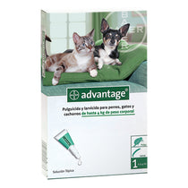 Advantage Pipeta Antipulgas para Perros/Gatos