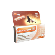 Bayer Advantage Multi Pipeta Antipulgas para Gatos Chico