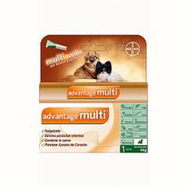 Bayer Advantage Multi Pipeta Antipulgas para Perros Chico
