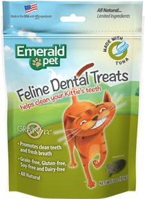 Emerald Pet Premios Dentales de Atún
