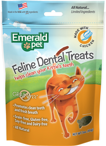 Emerald Pet Premios Dentales de Pollo