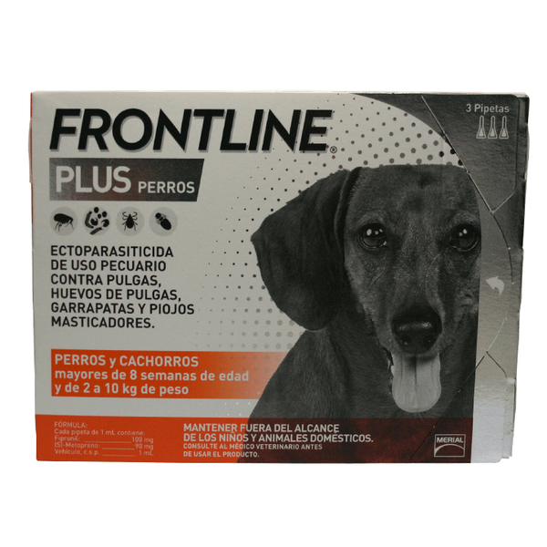Merial Frontline Plus - 3 Pack Chico