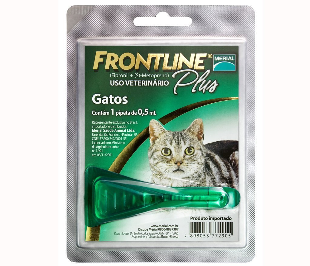 Merial FrontLine Plus - Gatos