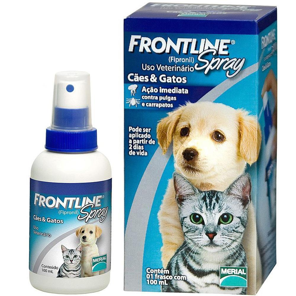 Merial FrontLine Spray - Gatos 100ml