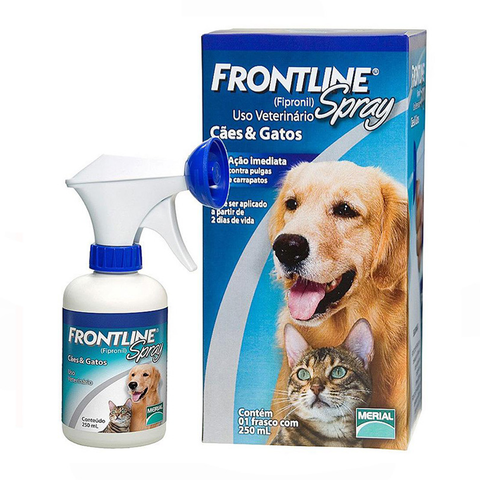 Merial FrontLine Spray - Gatos 250ml