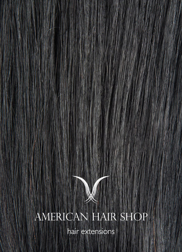 Jet Black #1 Clip-in Extensions
