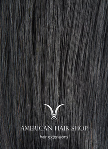 Jet Black #1b Tape- in Extensions