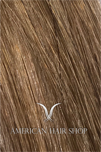 Golden Brunette Tape-in Natural Extensions. 18