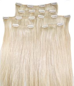 Sassy Blonde #613 Clip-in Hair Extensions