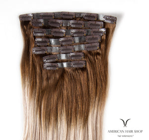 Signature Artic Blonde. Clip-in Hair Extensions