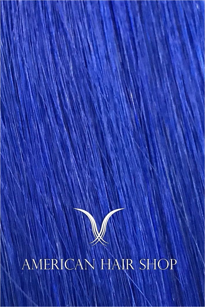 Fantasy Blue Tape-in Extensions