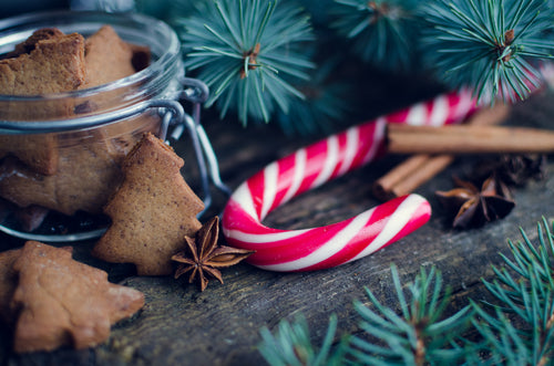 Candy Cane - Candle