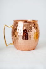 Mule Mug 16 ounce candle side view