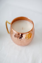 Mule Mug 16 ounce candle top view