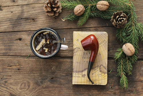 Santa's Pipe - Candle