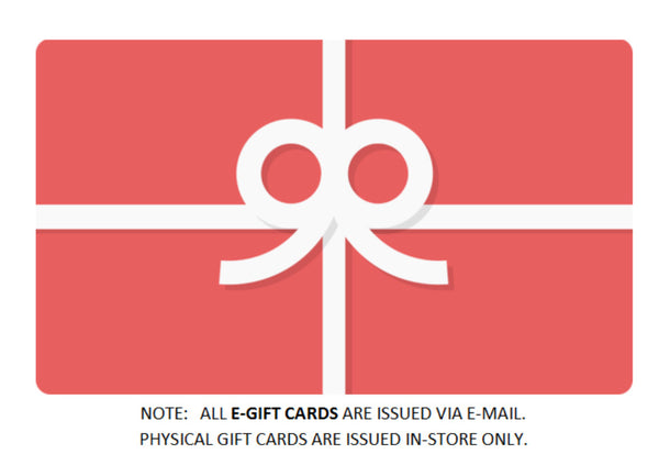 Gift Card - $10 bonus card when you spend $50!