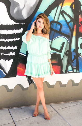 The Millie Mint Julep Dress