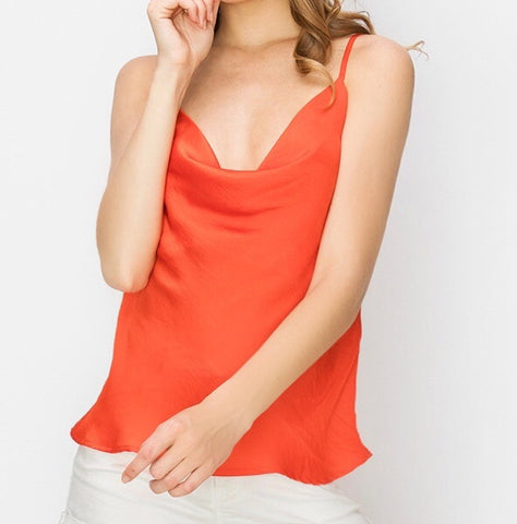 The Cami Cowl Neck Top