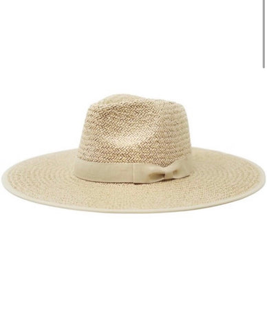 The Nattie Straw Hat