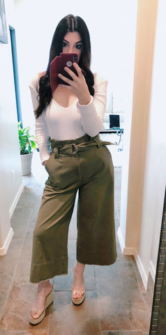 The Tessa Crop Pants