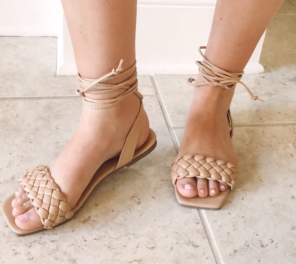 The Neutral Strappy Sandals