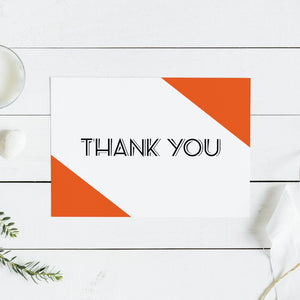 Color Block Thank You Card - Blú Rose Designs