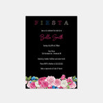 Load image into Gallery viewer, Fiesta Rose Bridal Shower Invitation - Blú Rose Designs
