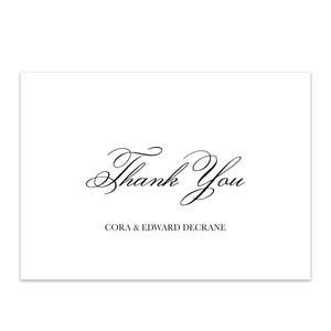 French Modern Thank You Card  | Printable